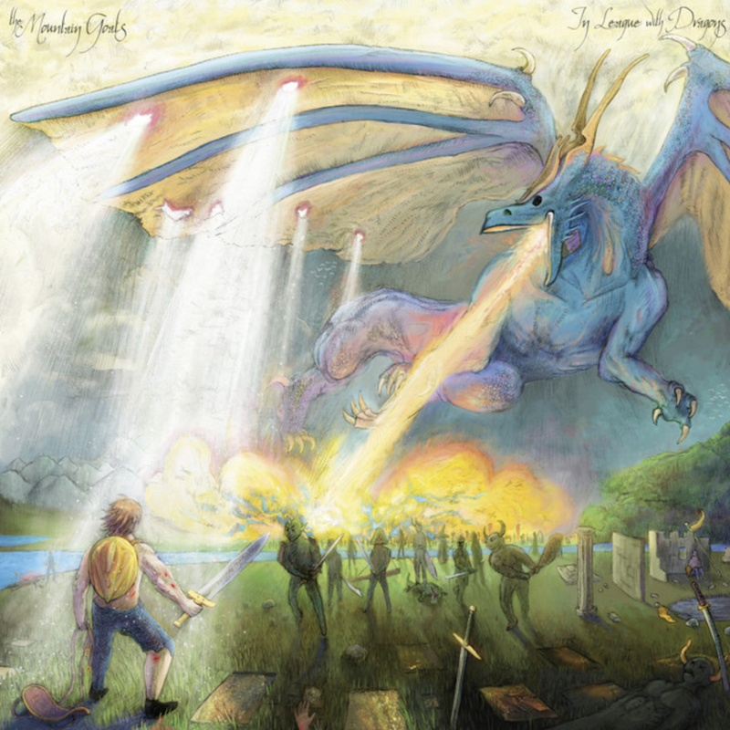 the mountain goats in league with dragons new album release