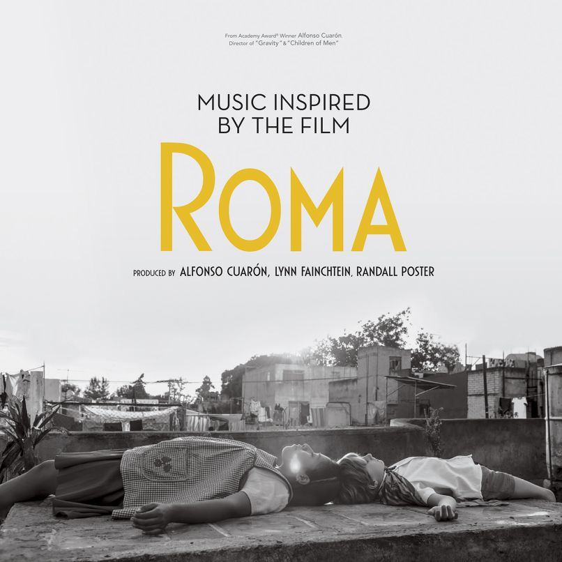 music inspired by the film roma album cover artwork Beck, Billie Eilish, Patti Smith contribute to Music Inspired by the Film Roma: Stream