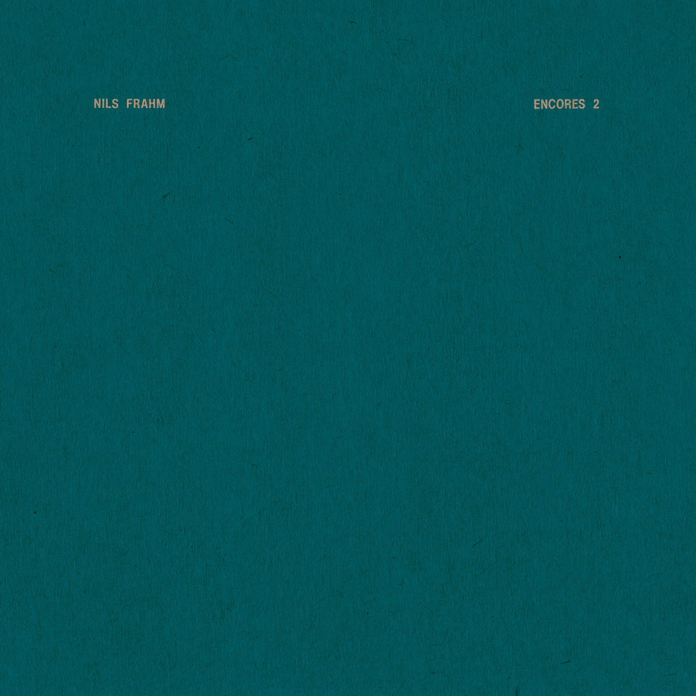nils frahm encores 2 Nils Frahm reveals new EP, Encores 2: Stream