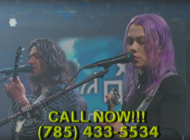 phoebe bridgers conor oberst better oblivion community center the late show with stephen colbert dylan thomas phone number