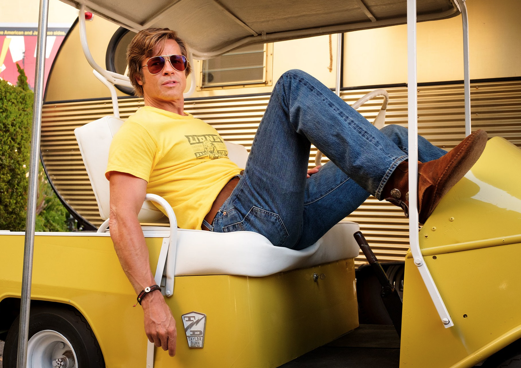 Brad Pitt, Quentin Tarantino, Once Upon a Time in Hollywood, Vanity Fair, 2019