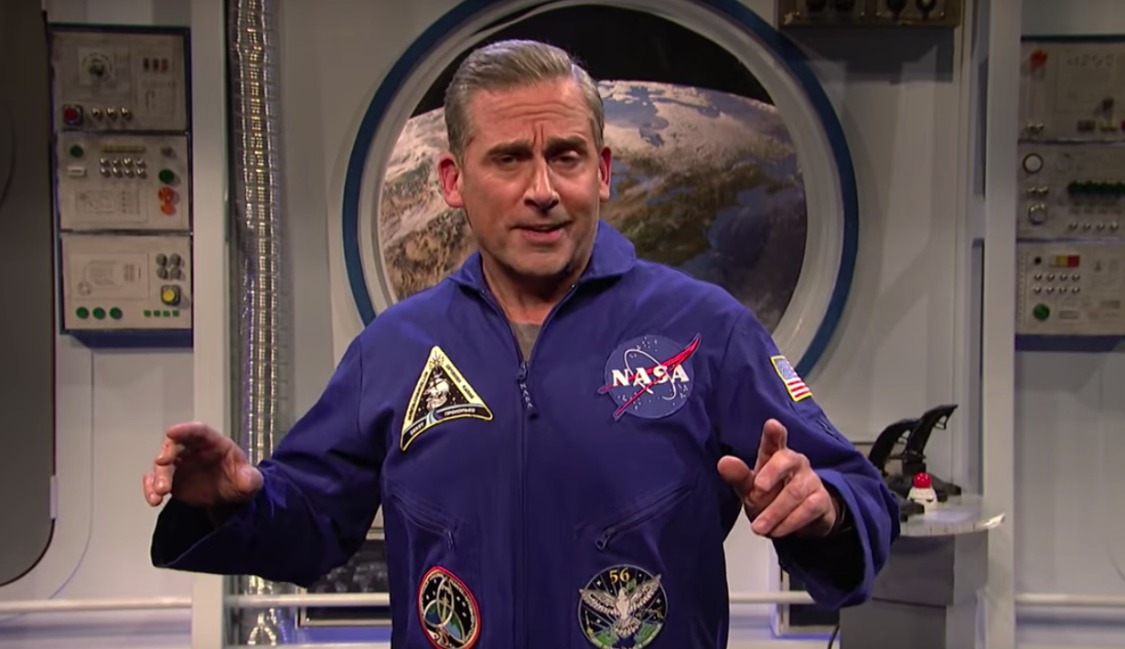 Steve Carell to star in Netflix's Space Force