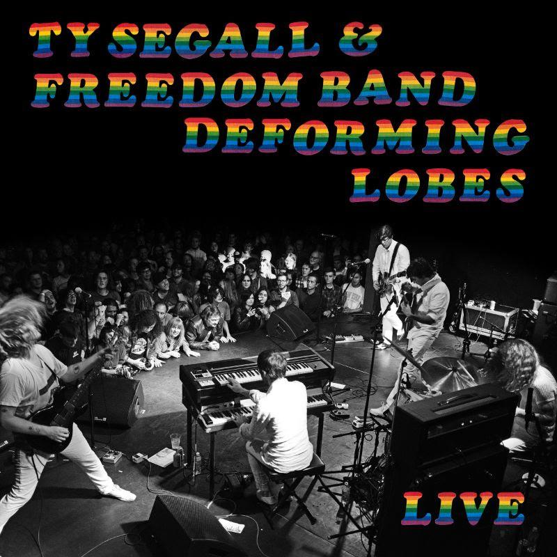 ty segall deforming lobes live album artwork