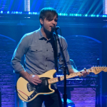 """Video Death Cab for Cutie performing """"Northern Lights"""" Seth Meyers TV"""