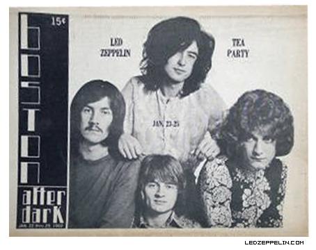 Led Zeppelin Boston 1969 Ad