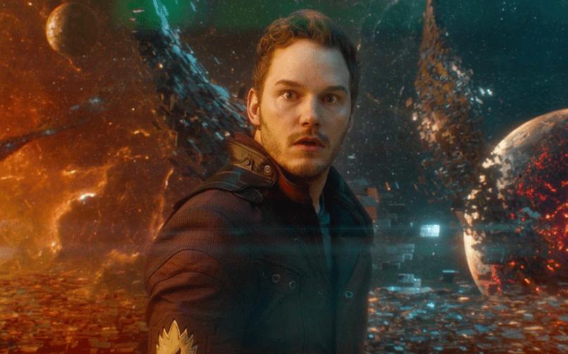 Chris Pratt Star Lord Guardians of the Galaxy Vol 3 James Gunn script