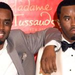 "Sean ""Diddy"" Combs with his Madame Tussauds wax statue"