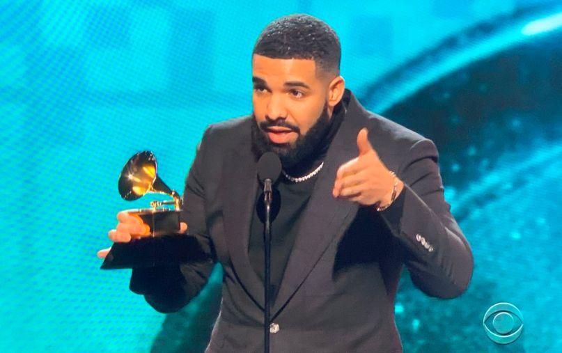 Drake gets cut off at Grammys