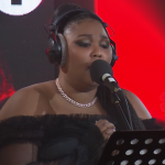 "Lizzo cover Miley Cyrus ""Nothing Breaks Like a Heart"" BBC Live Lounge video performance"