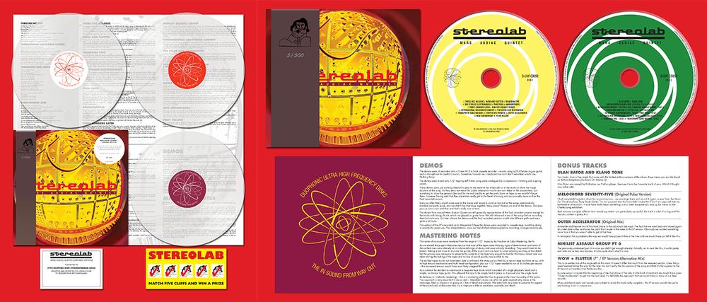 mars audiac stereolab reissue