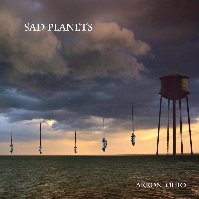 Sad Planets Akron Ohio album artwork cover