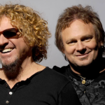 Sammy Hagar and Michael Anthony