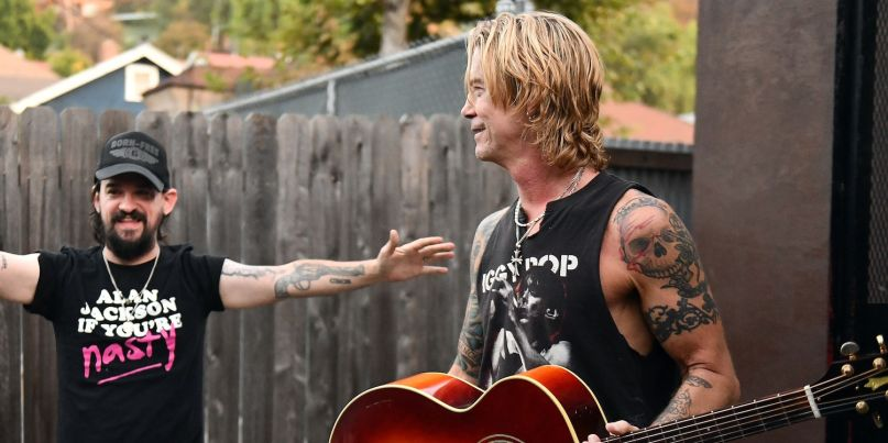 Shooter Jennings and Duff McKagan