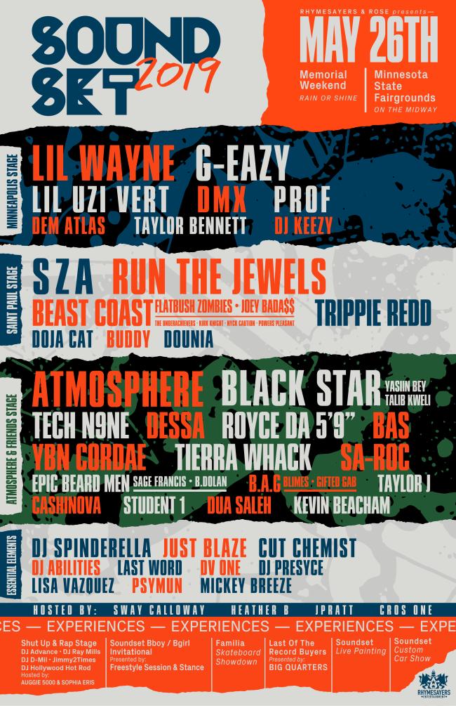 Soundset 2019 lineup