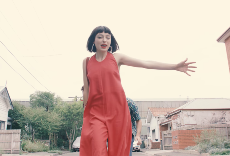 "Stella Donnelly ""Tricks"" music video song release new indie music"