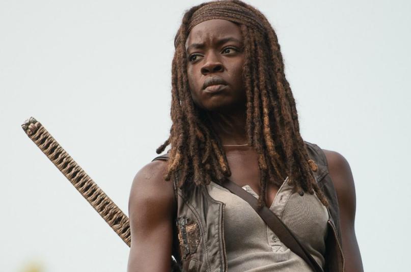 Danai Gurira as Michonne leaving The Walking Dead, Season 10