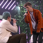 "Troye Sivan Lauv ""i'm so tired"" Jimmy Kimmel Live TV performance video"