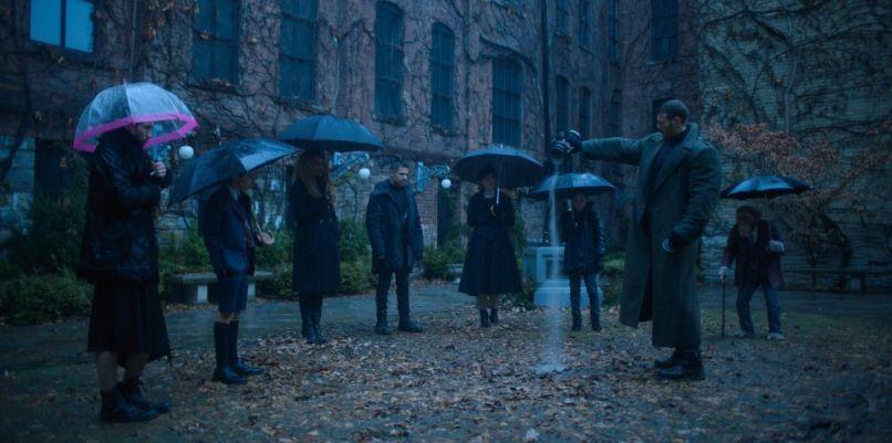 The Umbrella Academy, Netflix, Gerard Way