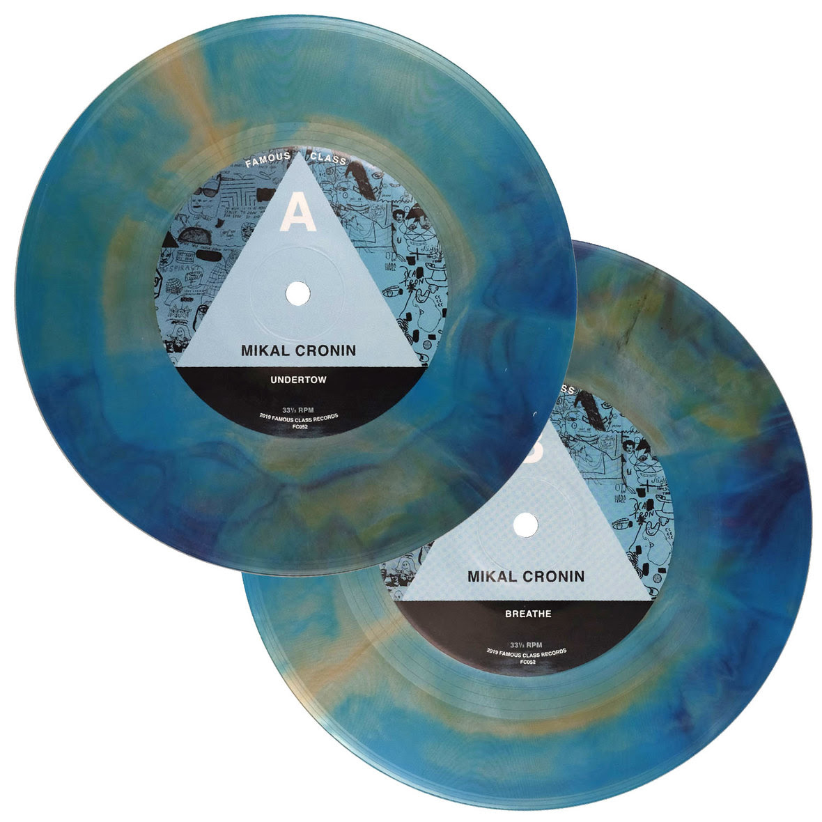 22Undertow22 bw 22Breathe22 Mikal Cronin color 7 inch vinyl 3 Mikal Cronin returns with new solo track Undertow: Stream