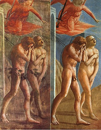 330px-Masaccio-TheExpulsionOfAdamAndEveFromEden-Restoration- the felice brothers poor blind birds origins