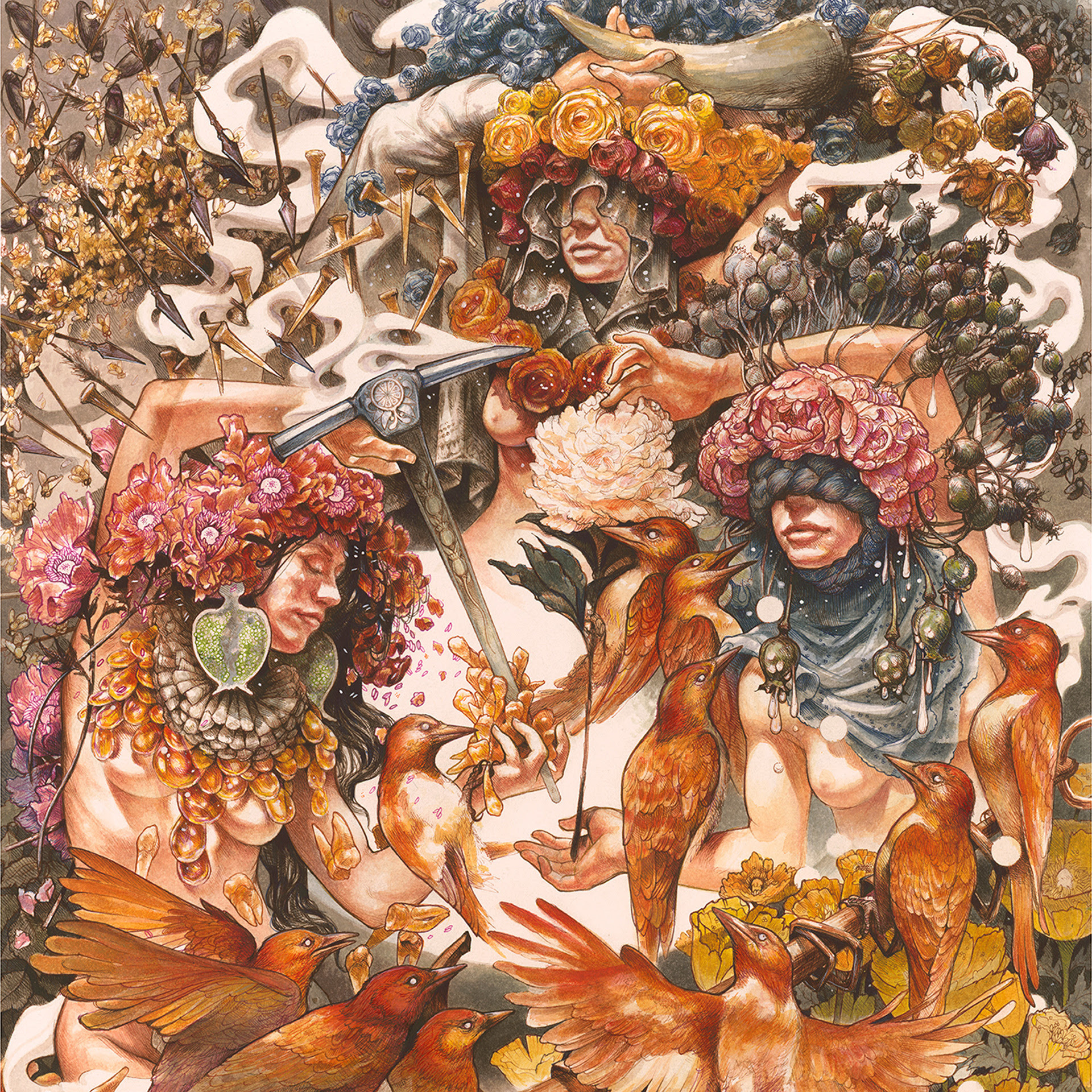 Baroness - Gold & Grey Album Cover