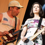 Bleachers (photo by Heather Kaplan) and Mitski (photo by Philip Cosores) Terrible Thrills Vol 3 Let's Get Married Cover Version 7-inch stream