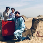 Red Hot Chili Peppers in Egypt, photo via @RaniaAlMashat / Twitter