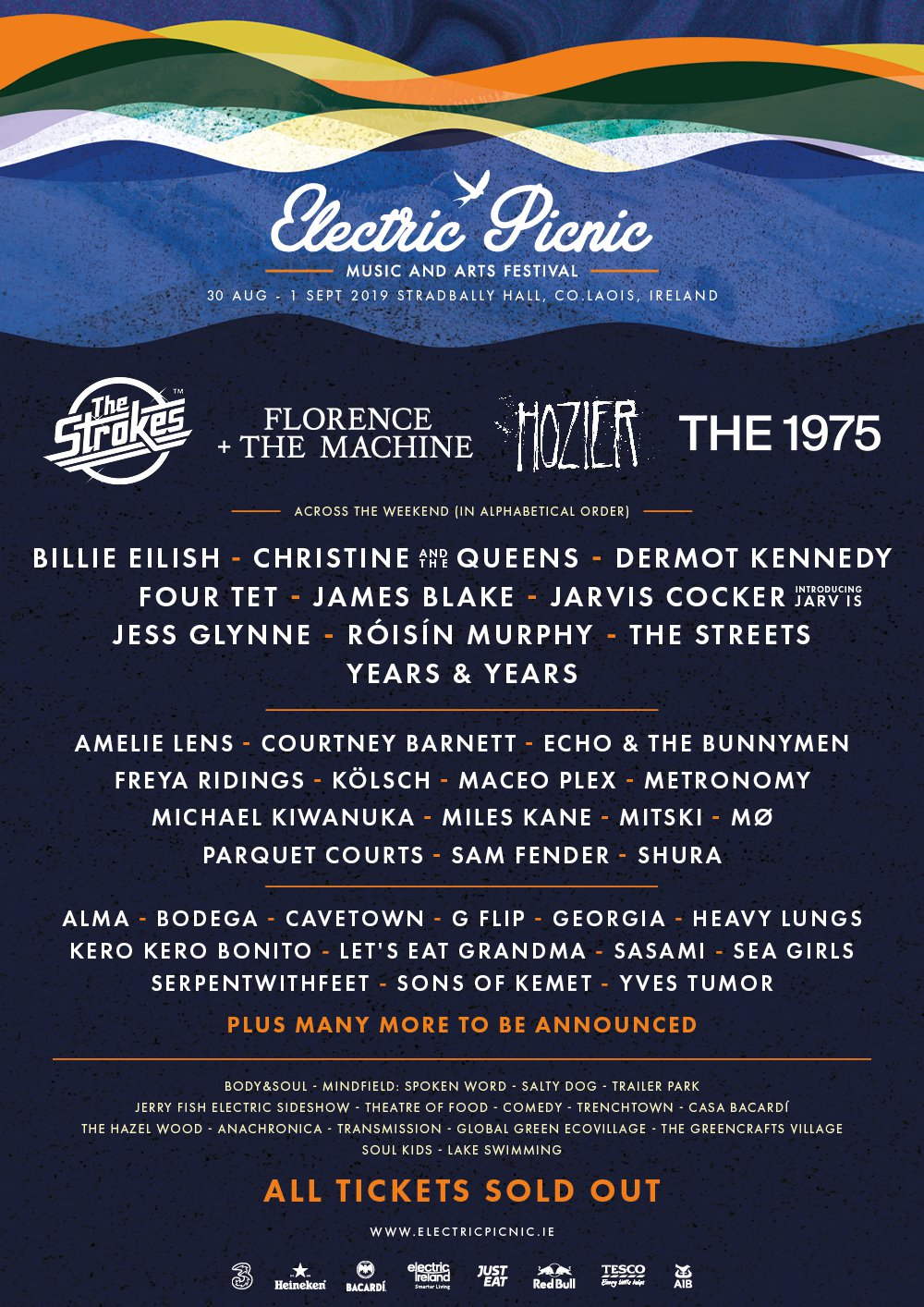 Electric Picnic 2019 lineup