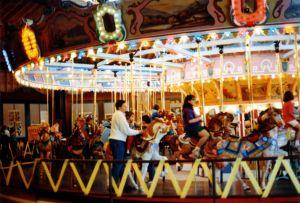 Historic Holyoke merry go round 1994 Historic Holyoke merry go round 1994