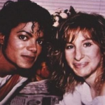 Michael Jackson and Barbara Streisand