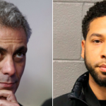 Rahm Emanuel and Jussie Smollett