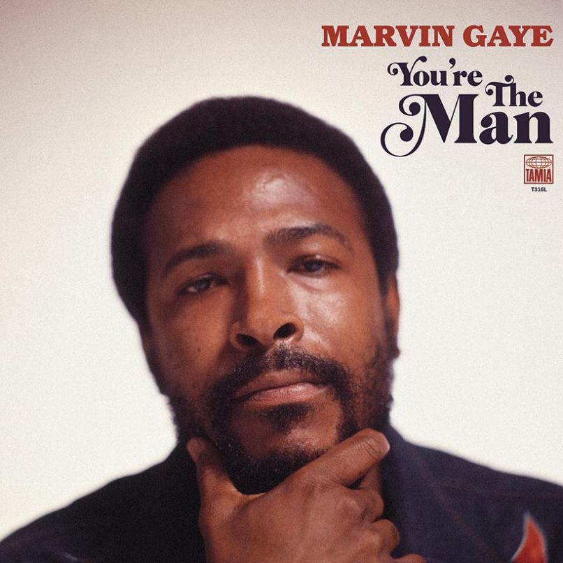 You're The Man Marvin Gaye Album Lost Record 1972 Artwork