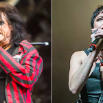 Alice Cooper and Lzzy Hale