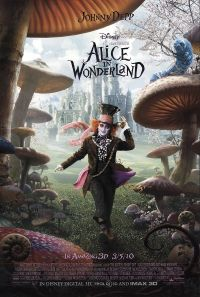 alice in wonderland tim burton johnny depp movie