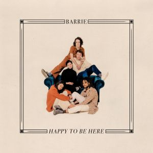 Barrie Happy to be here album artwork cover