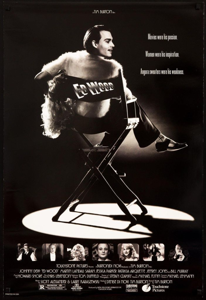 ed wood poster Ranking: Every Tim Burton Movie from Worst to Best