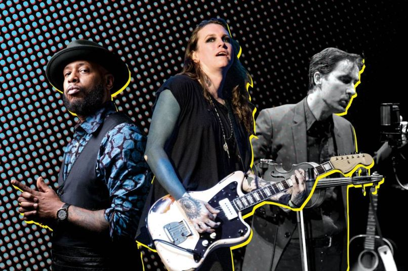 Talib Kweli, Laura Jane Grace, and Andrew Bird