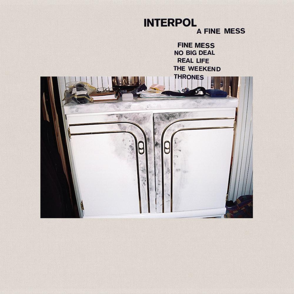 interpol a fine mess EP artwork
