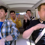 "The Jonas Brothers Carpool Karaoke ""Sucker"" performance video James Corden"