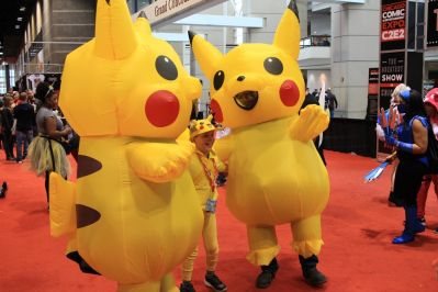 C2E2, Cosplay, Comic Books, Chicago, Convention, Con, Superheroes, Pikachu