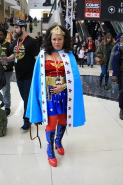 C2E2, Cosplay, Comic Books, Chicago, Convention, Con, Superheroes, Wonder Woman