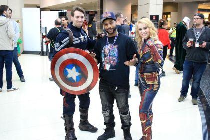C2E2, Cosplay, Comic Books, Chicago, Convention, Con, Superheroes, Captain America