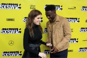 Anna Kendrick, Marchánt Davis, The Day Shall Come, SXSW, Red Carpet Photo, Heather Kaplan