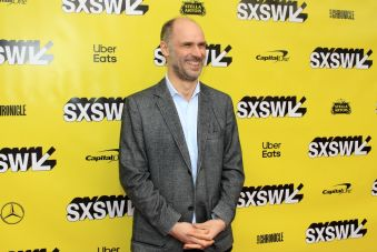 Jesse Armstrong, The Day Shall Come, SXSW, Red Carpet Photo, Heather Kaplan