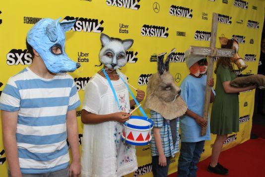 Creepy Kids, Pet Sematary, SXSW, Red Carpet Photos, Heather Kaplan