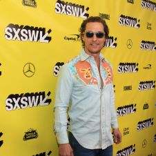 The Beach Bum, SXSW, Red Carpet, Matthew McConaughey