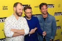 Long Shot, SXSW, Evan Goldberg, SXSW, Red Carpet, Seth Rogen, James Weaver