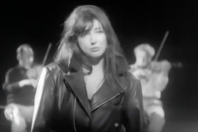 Kate Bush The Man I Love Music Video Gershwin Larry Adler