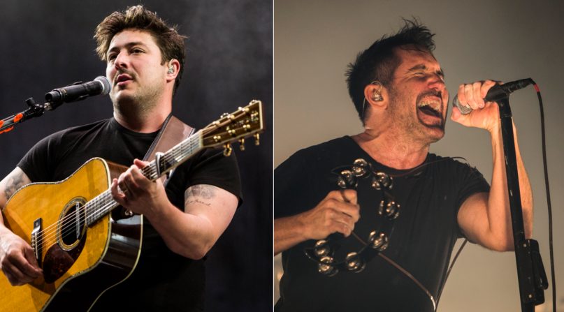 Mumford & Sons and Nine Inch Nails, photos by Philip Cosores