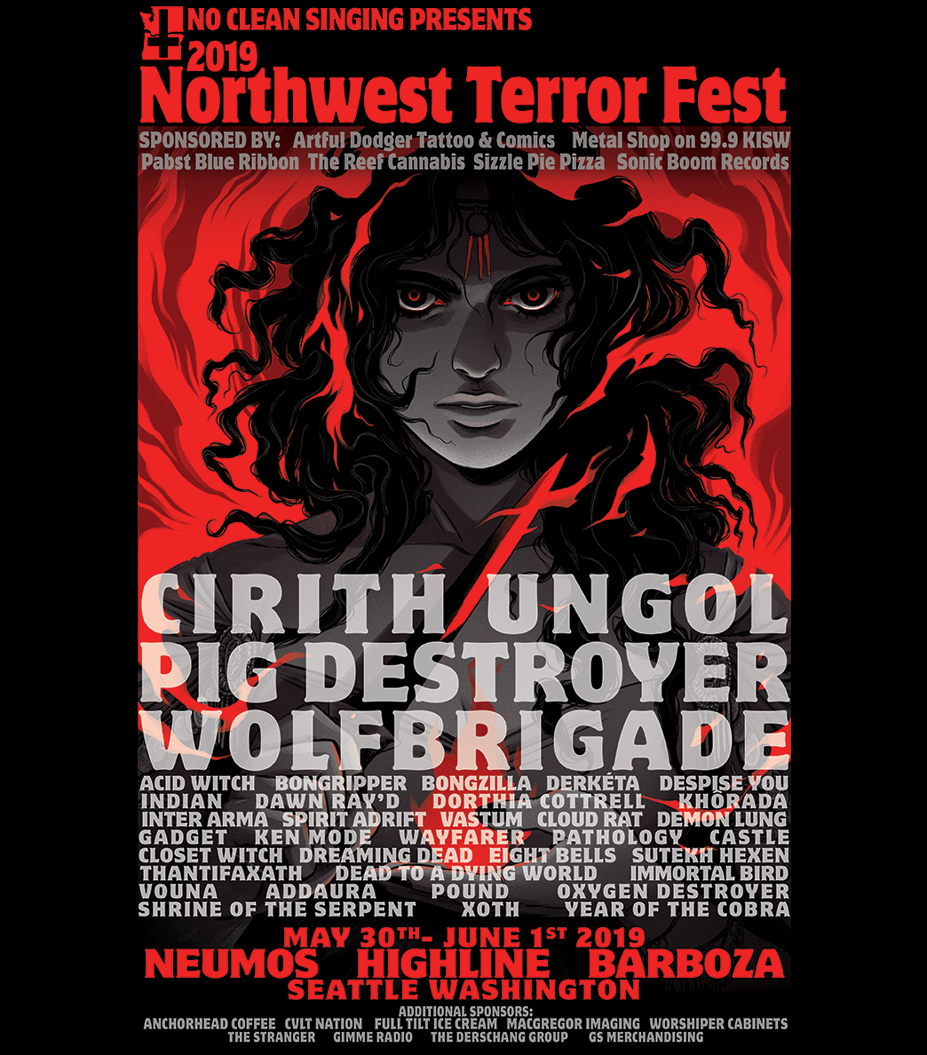 Northwest Terror Fest Poster 2019